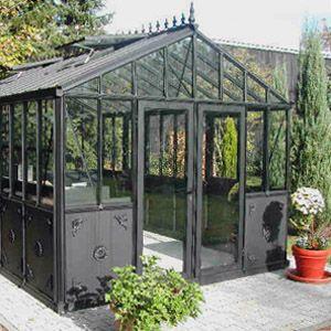 serre-orangerie-aluminium-article | Sunrooms | Serre jardin ...