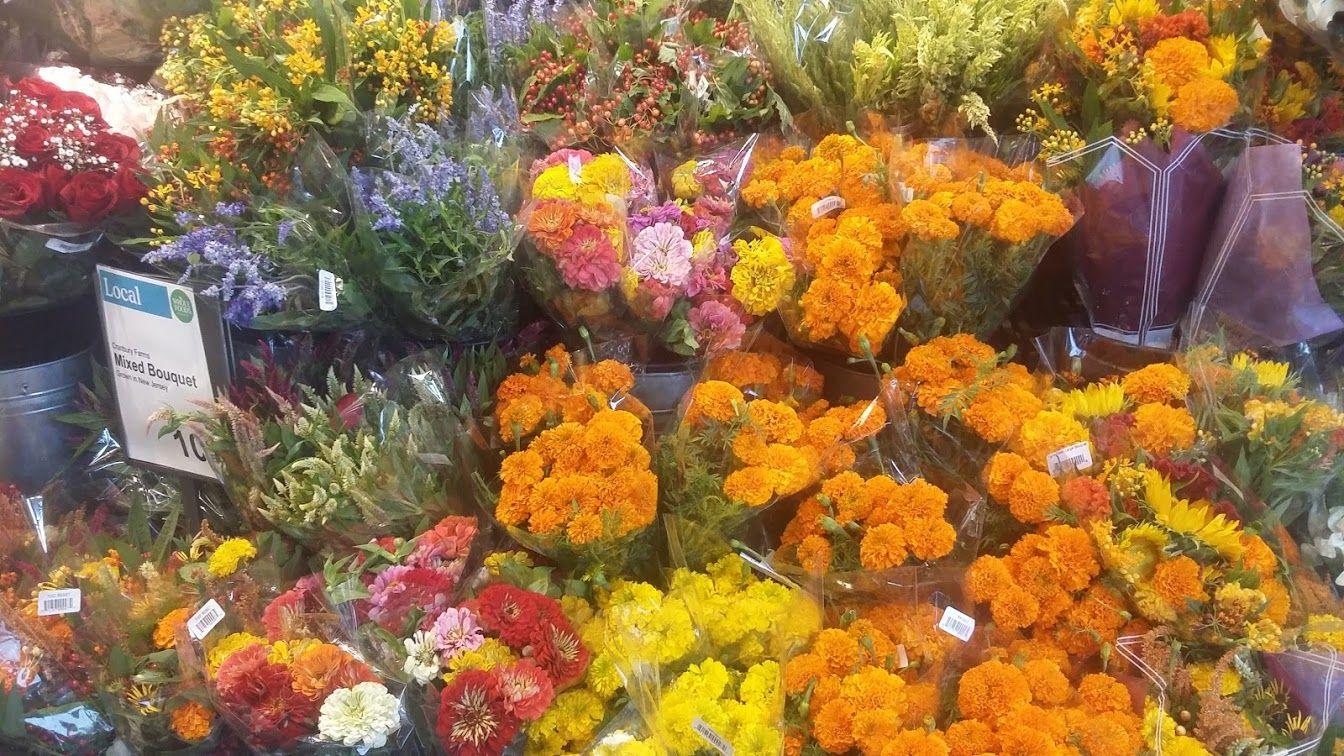 Explosion de colores en este freshmarket de manhattan
