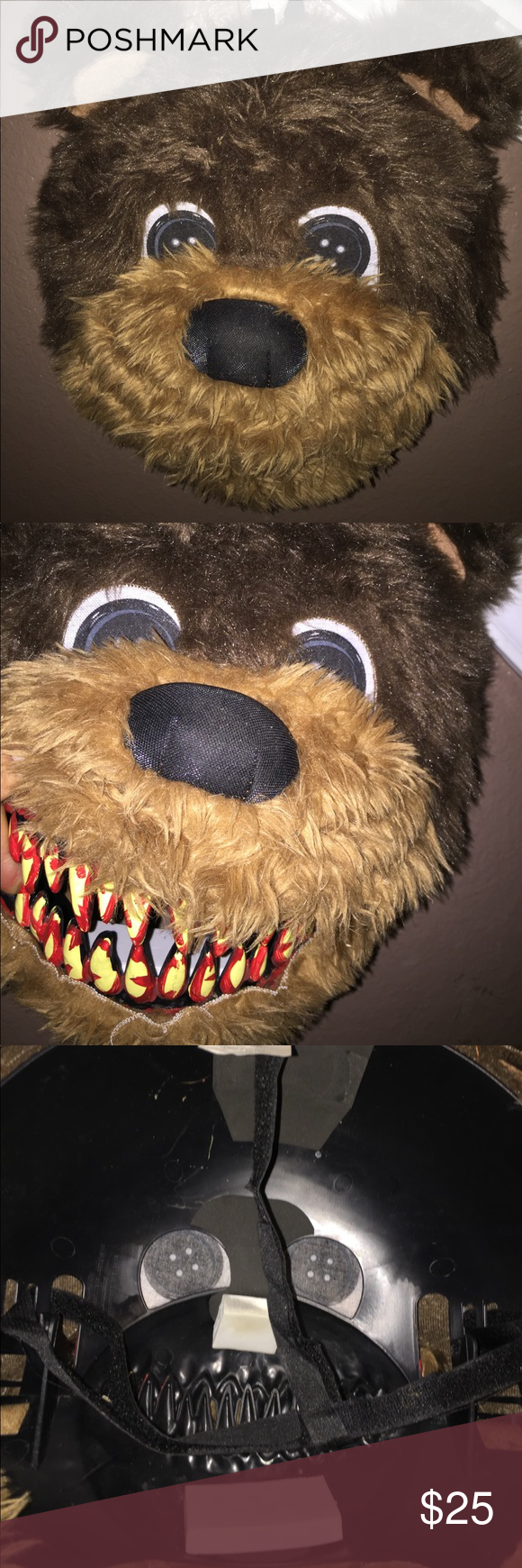🐻bear animotion mask🐻for adult or youth yes!! animotion bear mask