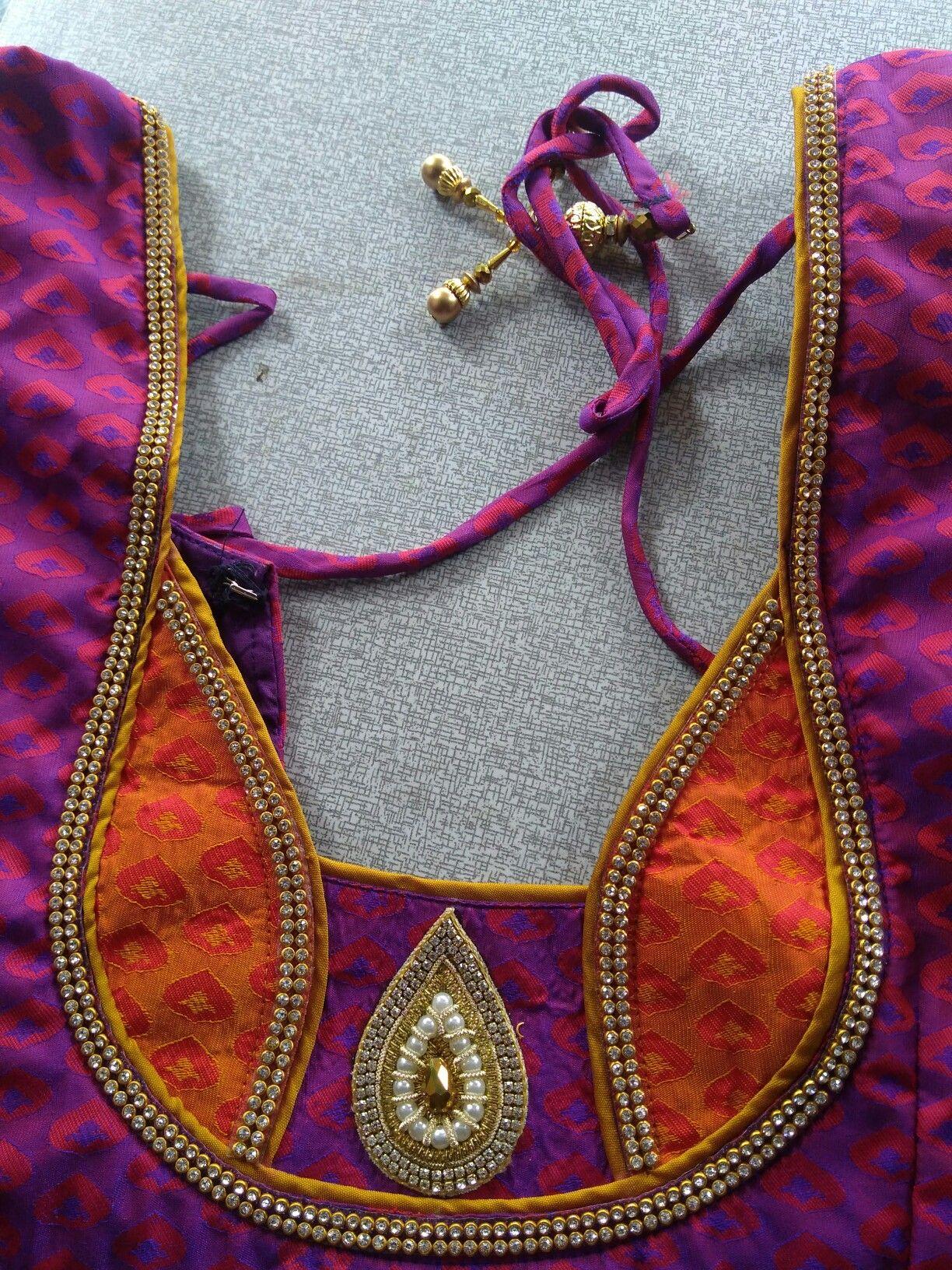 Pin By Sai Suba On Blouses Blouse Neck Designs Fashion Blouse
