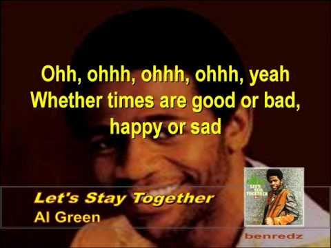 Let\'s Stay Together by Al Green - with lyrics version.wmv ...