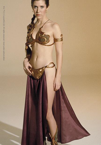 Princess leia slave bikini costume