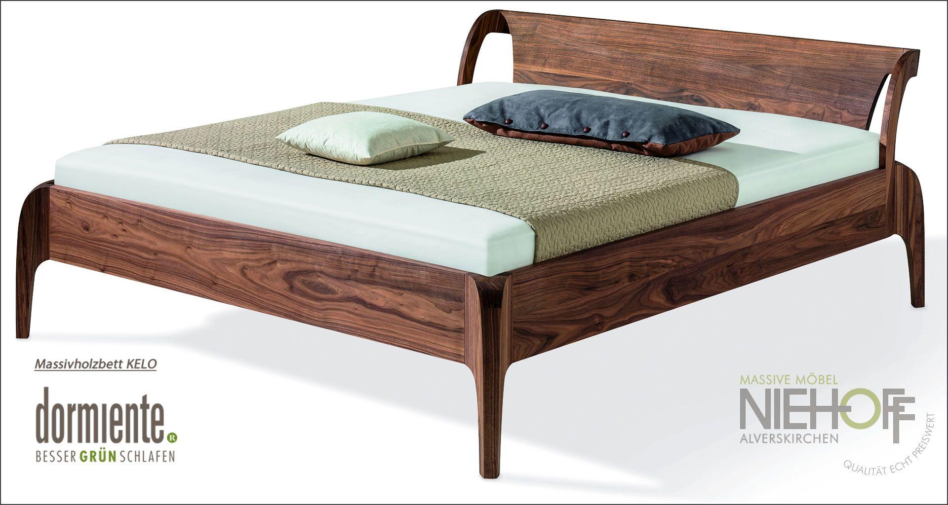 Massives Holzbett Einzelbett Doppelbett Kelo Von Dormiente