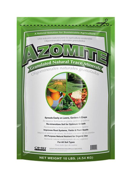 Azomite Natural Trace Minerals Available At Treeland Nursery In Mesa Az