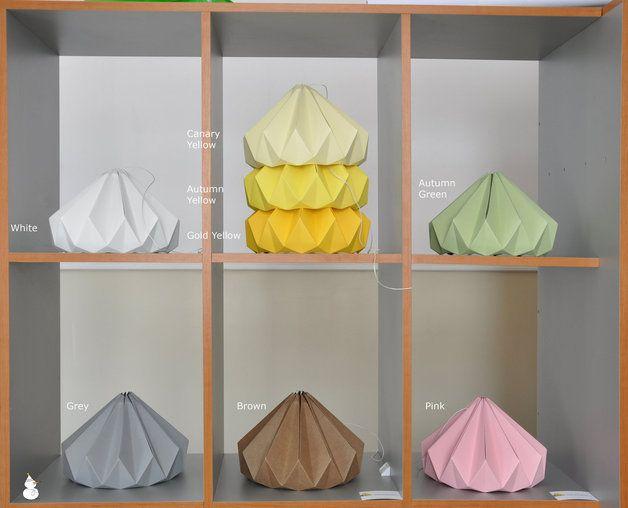 Studio Snowpuppe Lamp : Lampenschirme snowpuppe chestnut paper lamp pink ein