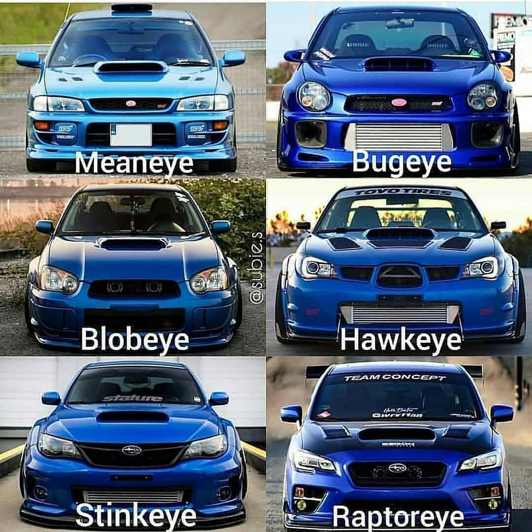 are we saying raptoreye now? Subaru cars, Subaru impreza