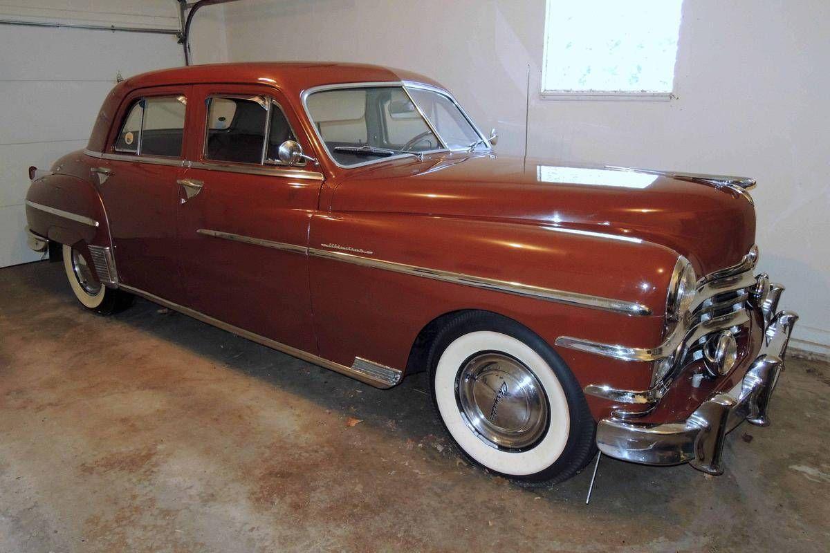 1949 Chrysler Windsor 4 Door Sedan With Images Chrysler