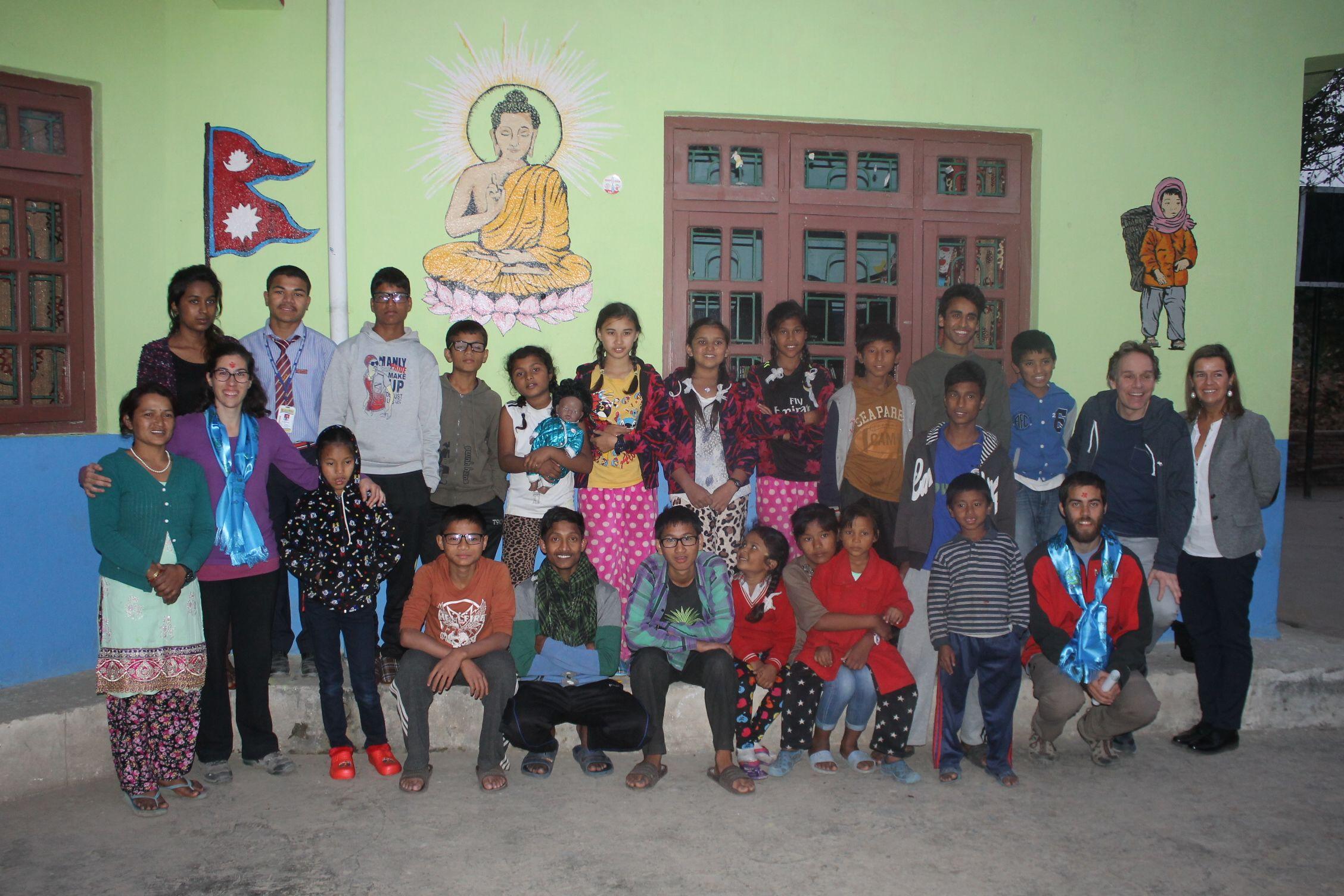 La familia de Fresh Nepal