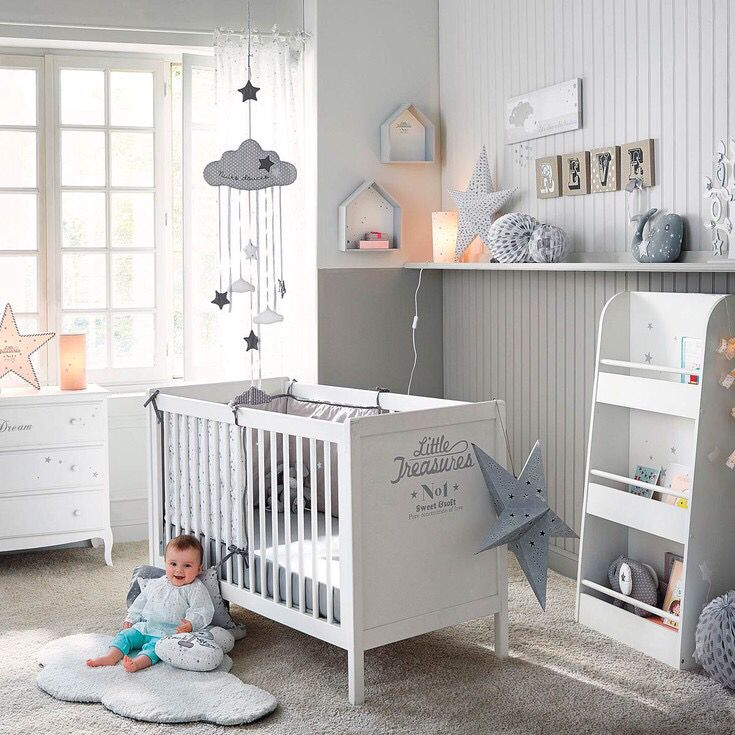 Baby nursery ideas habitaci n de beb baby room ideas for Habitacion completa bebe boy