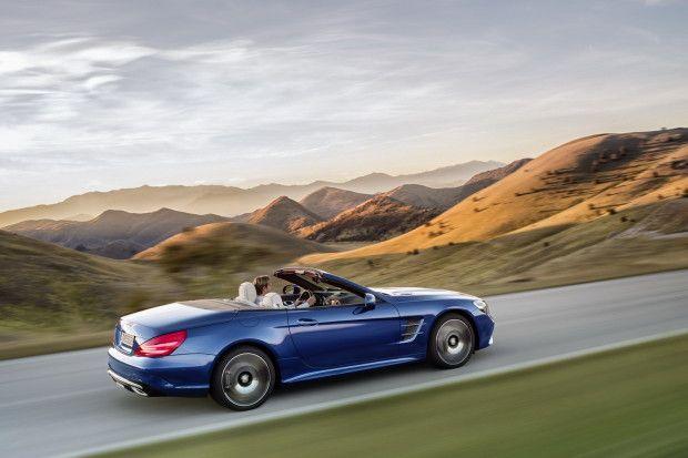 Mercedes-Benz SL 500.
