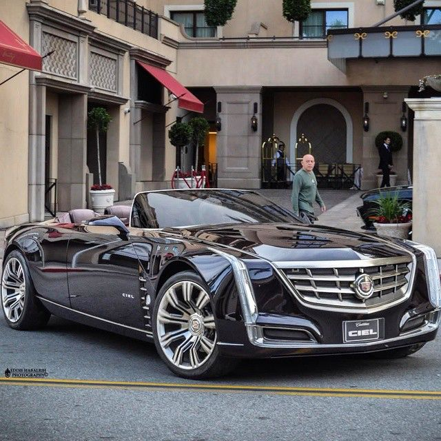 Cadillac (Beautiful, haven't seen these on the road) cmd