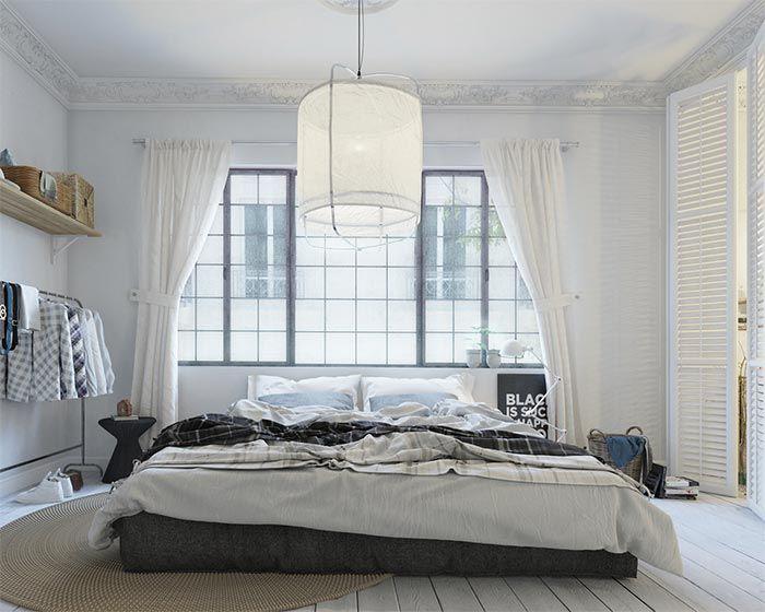 22 ideas para colocar la cama delante o bajo la ventana · 22 ideas ...
