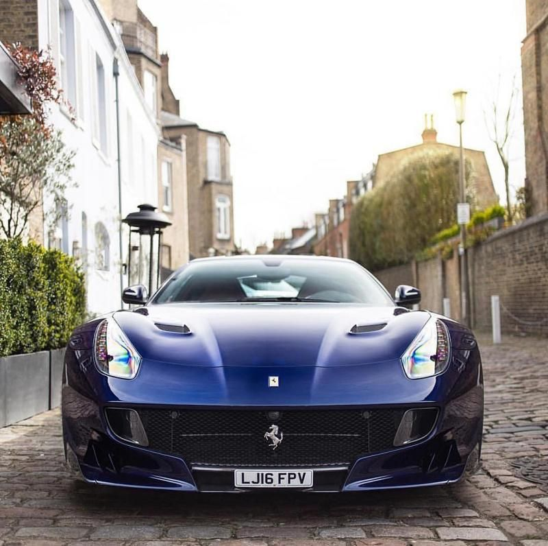 Best Official Ferrari F12 Tdf Picture Thread Blu Lemans 400 x 300
