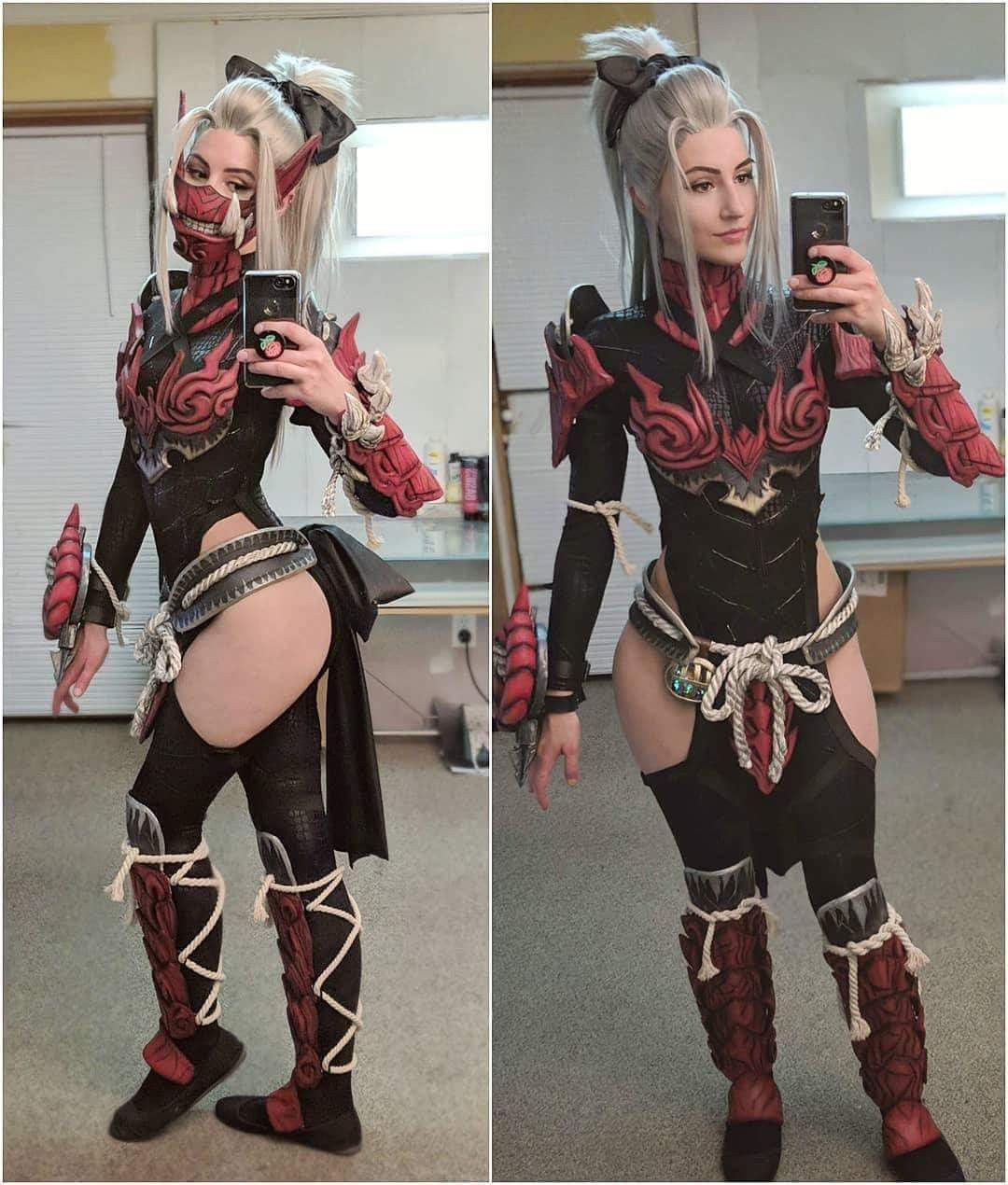 odogaron alpha from monster hunter world cosplayer: luxlo cosplay