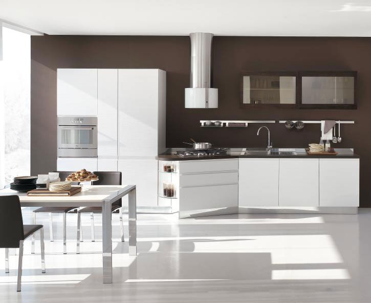 New Modern Kitchen Design with White Cabinets   Bring from Stosa   DigsDigs. New Modern Kitchen Design with White Cabinets   Bring from Stosa