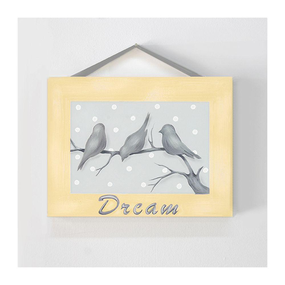 Dream Bird in Yellow #carouseldesigns