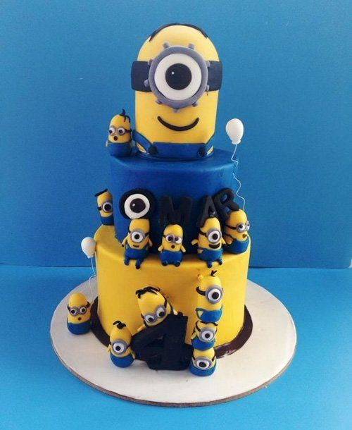 Excellent Minion Cake 50 Elaborate Birthday Cakes Mom With Images Personalised Birthday Cards Akebfashionlily Jamesorg