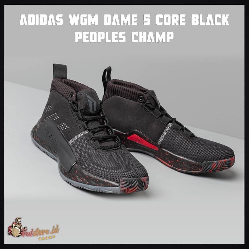 Sneakers High Premium Quality Sneaker Sekeren Ini Cuman 690k Sepatu Adidas Wgm Da All Black Sneakers Black Sneakers