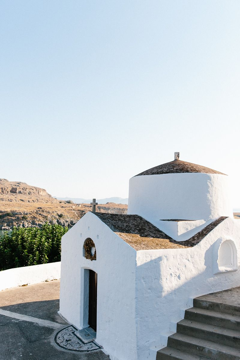 Lindos, Rhodes, Greece | pinterest: @elliegracewicks