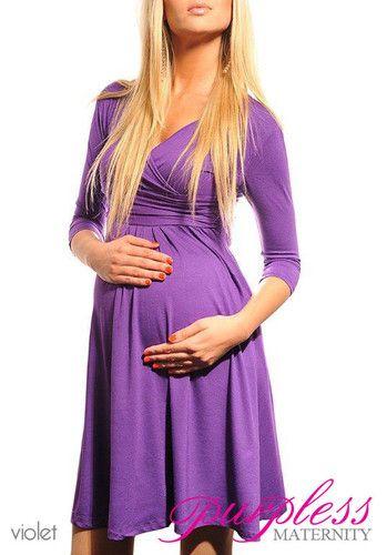 44aa3888001 New Maternity Dress V Neck Pregnancy Clothing Wear Size 8 10 12 14 16 18  4400