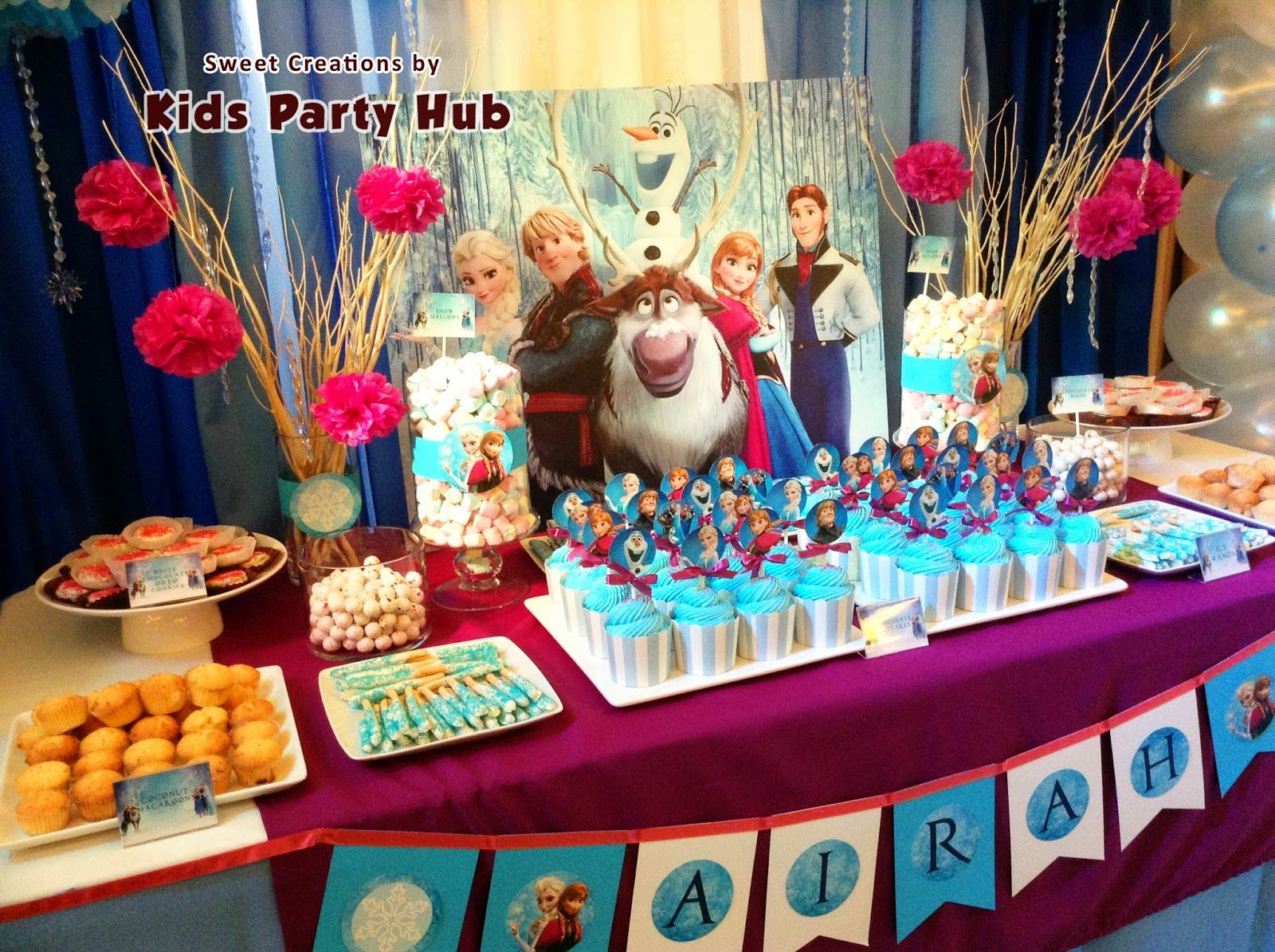 Frozen Disney Party Ideas Typically The Colors Would Be