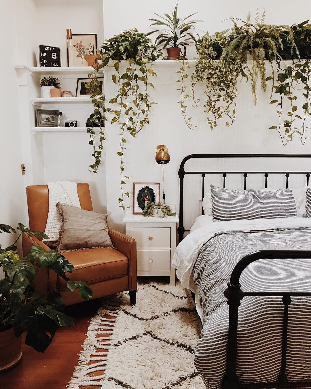 Schoolhouse Living Branch Abode Bedroom Decor Bedroom Makeover Bedroom Design Cute bedroom ideas plants