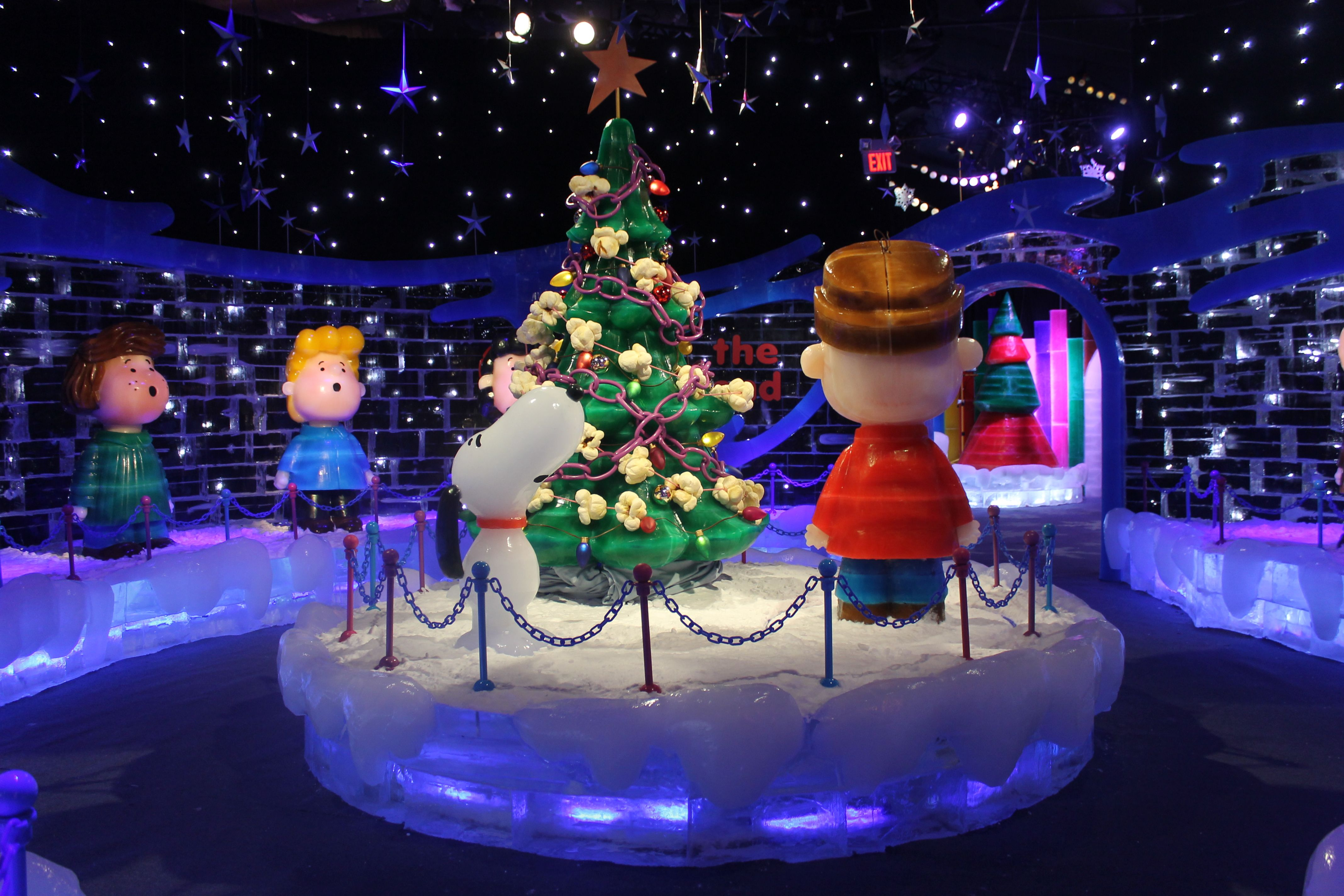 Charlie Brown at Ice Gaylord Palms