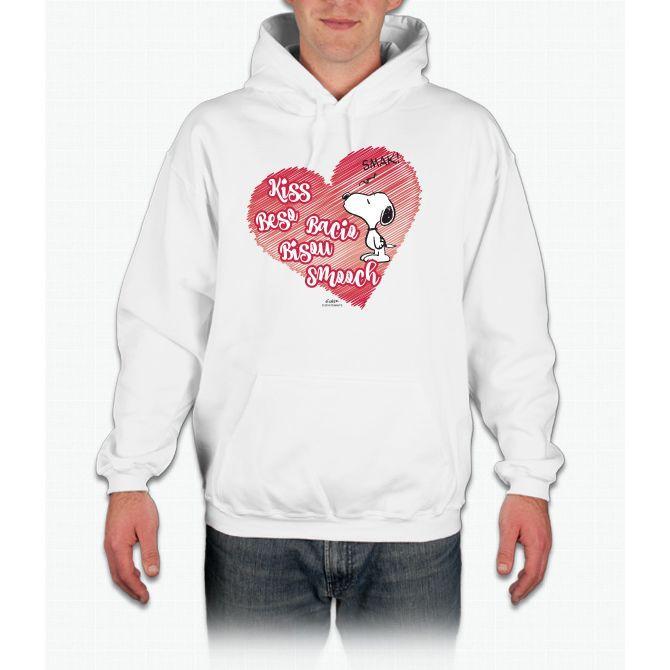 Snoopy - Kisses Infant Hooded Sweatshirt