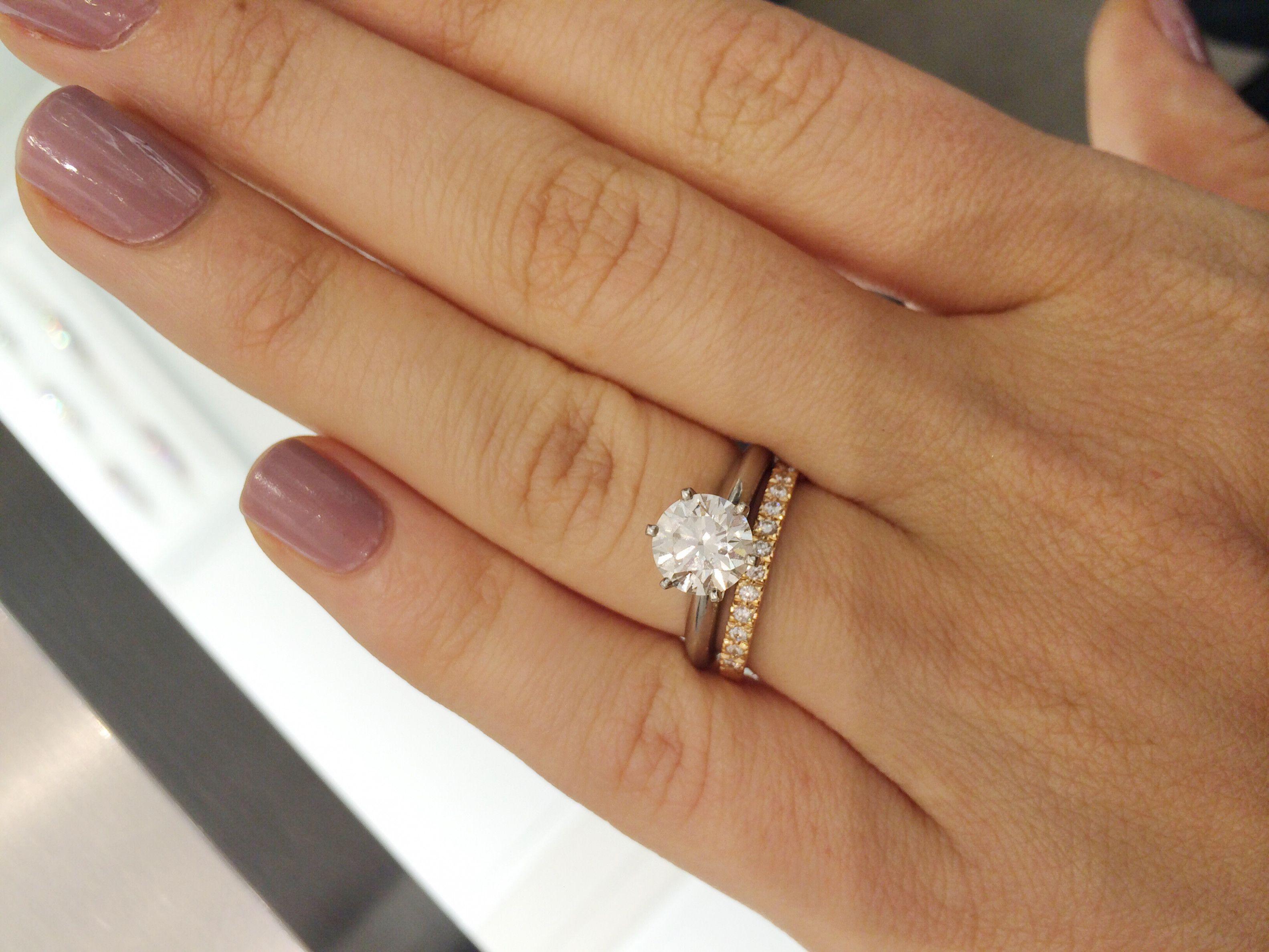 Rose Gold Wedding Inspiration Engagement Rings Brollop