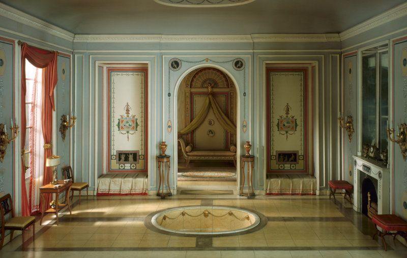 E 25 French Bathroom And Boudoir Of The Revolutionary Period