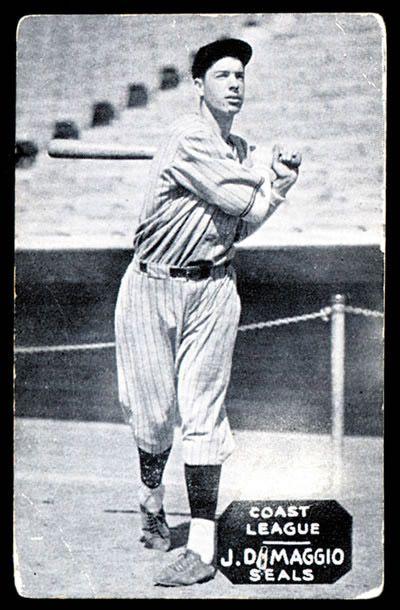 Joe Dimaggio Rookie Card 1934 Joe Dimaggio Zeenut Rookie