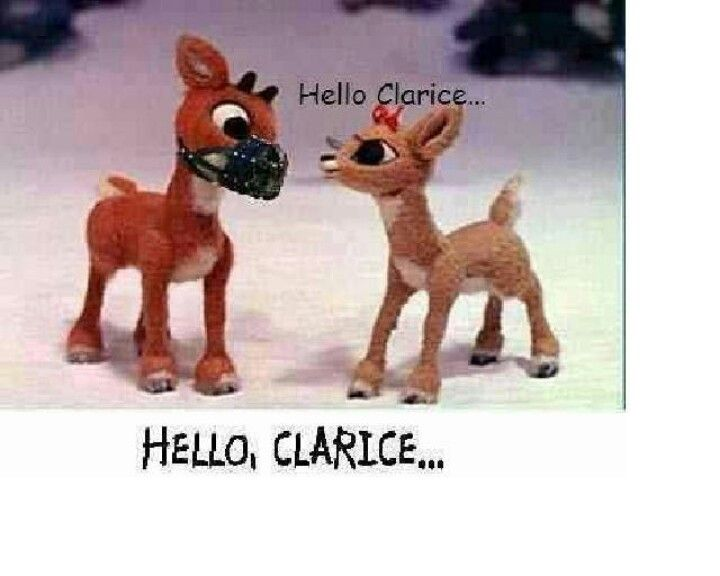 Funny Reindeer Meme : Christmas humor. silence of the lambs joke. rudolph the red nose