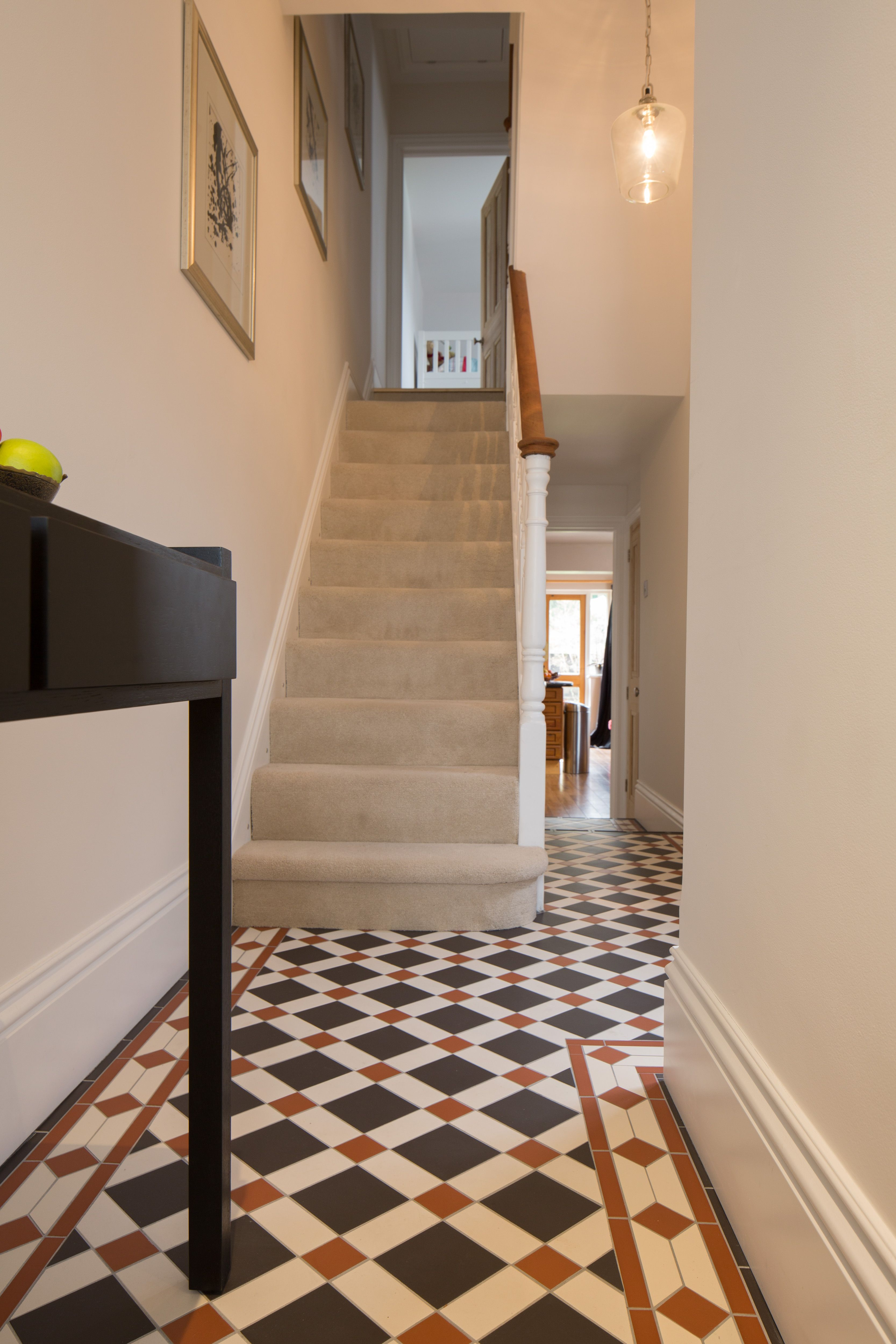 The Falkirk Pattern Victorian Floor Tiles By Original
