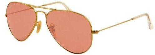 05e0d1ebc Rose colored glasses Ray-Ban RB3025 Aviator Sunglasses on shopstyle.com