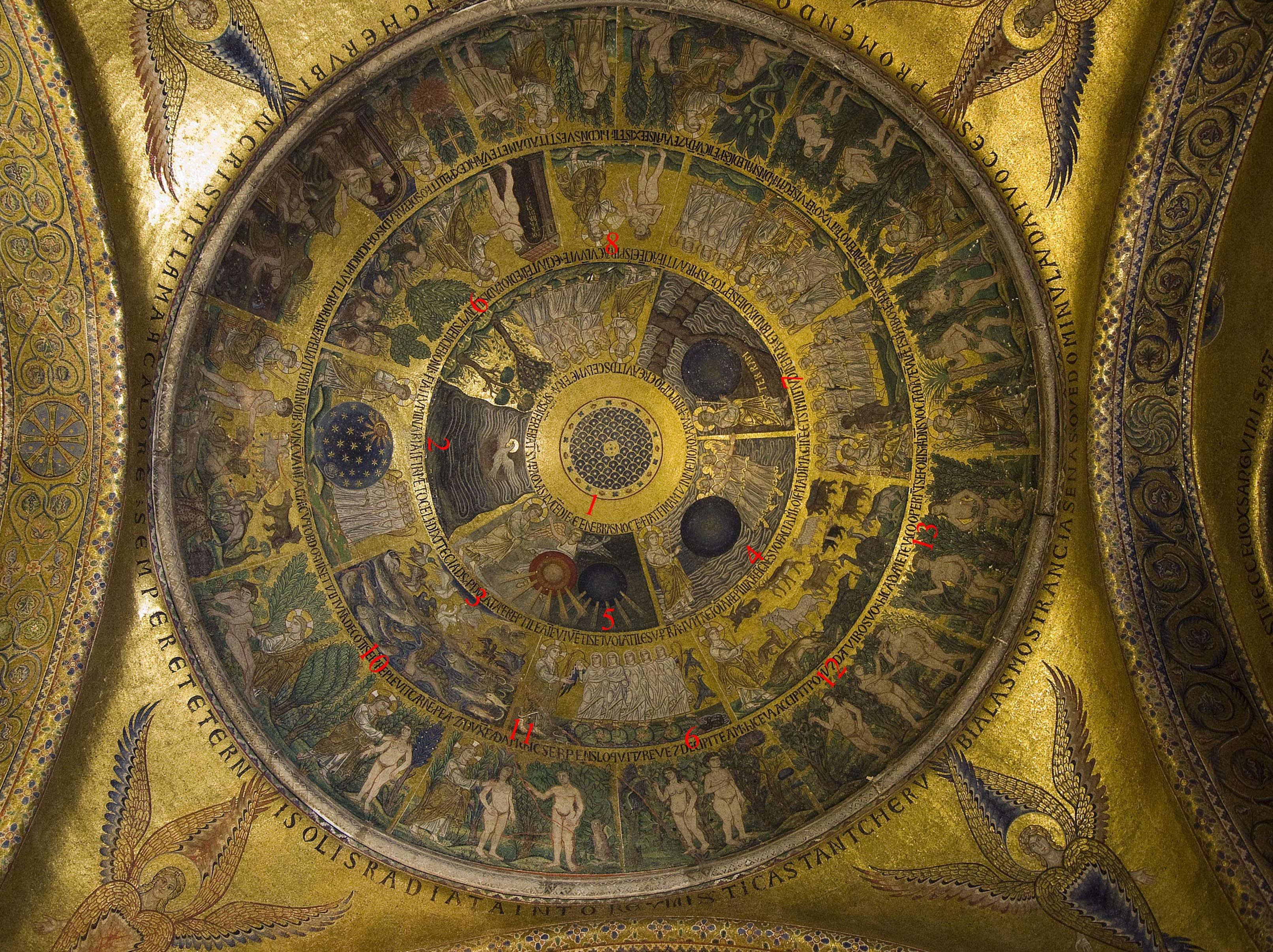 San Marco Amp Piazza Venice Italy Genesis Series Mosaics