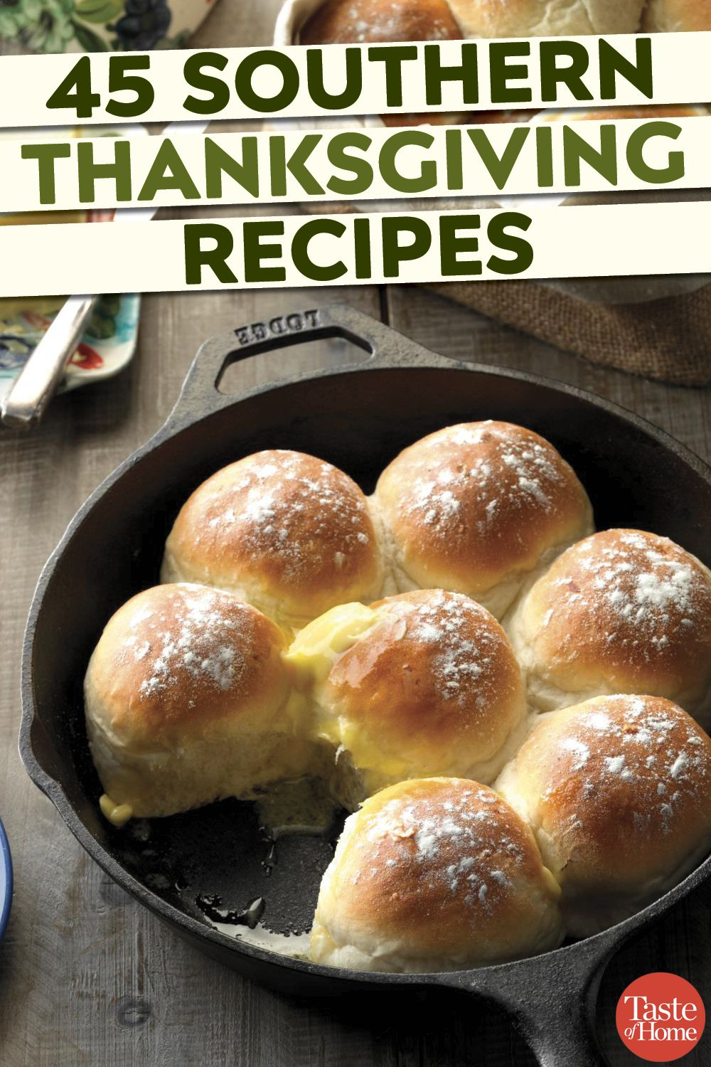 45 Soulful Southern Thanksgiving Recipes #thanksgivingrecipes