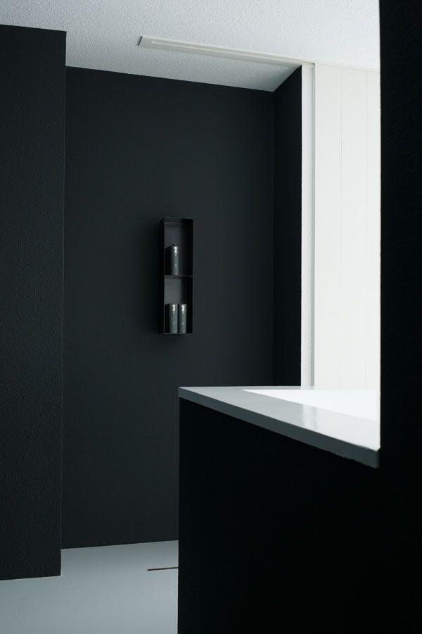Badkamer donker-licht contrast