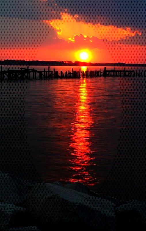 Reflecting Photo Some Favorite Sunrises and Sunsets - Photographer: Thomas E. Di... -