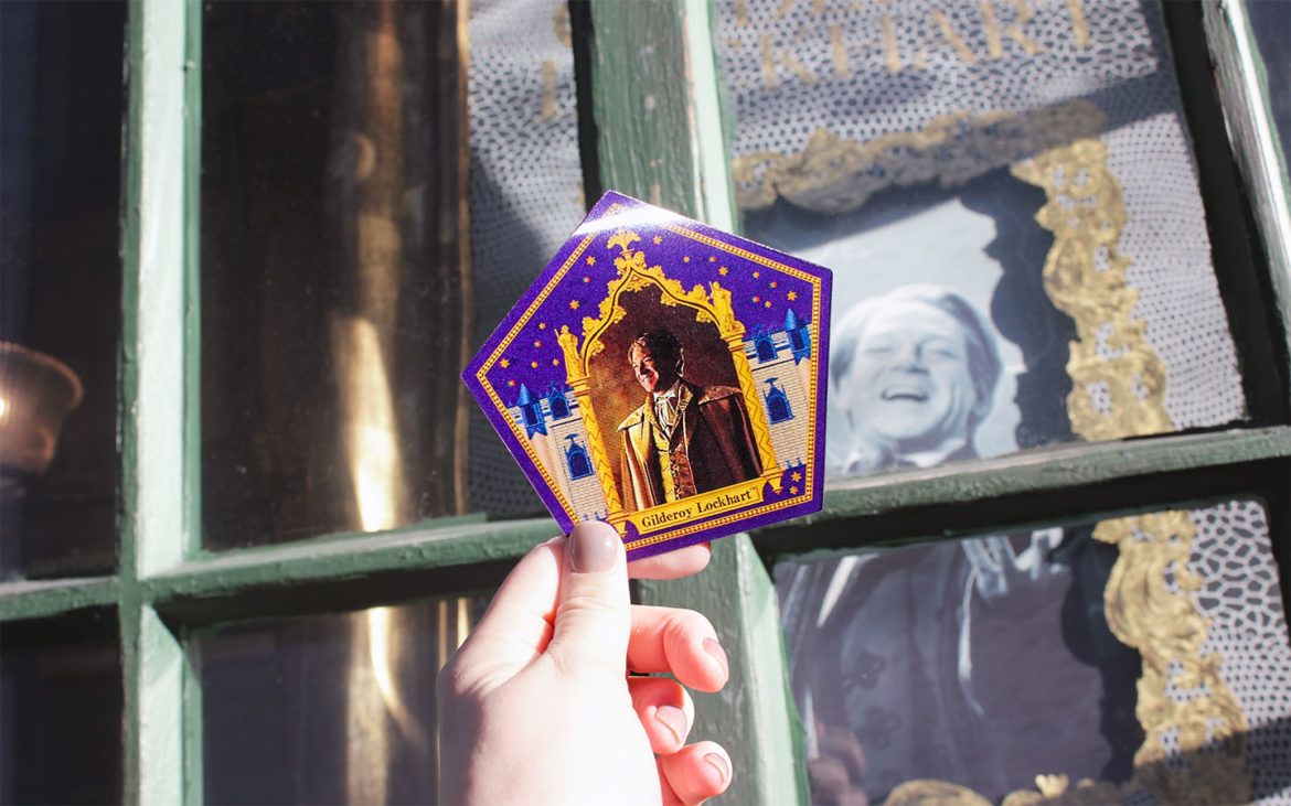 Chocolate Frog Wizarding World of Harry Potter