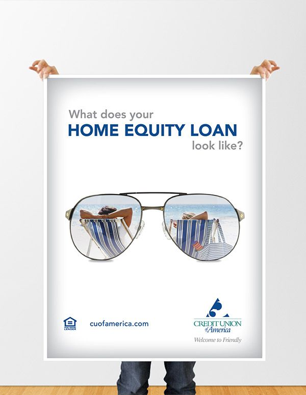Posters for CUA Home Equity Loan Campaign on Behance | HE Promo ...