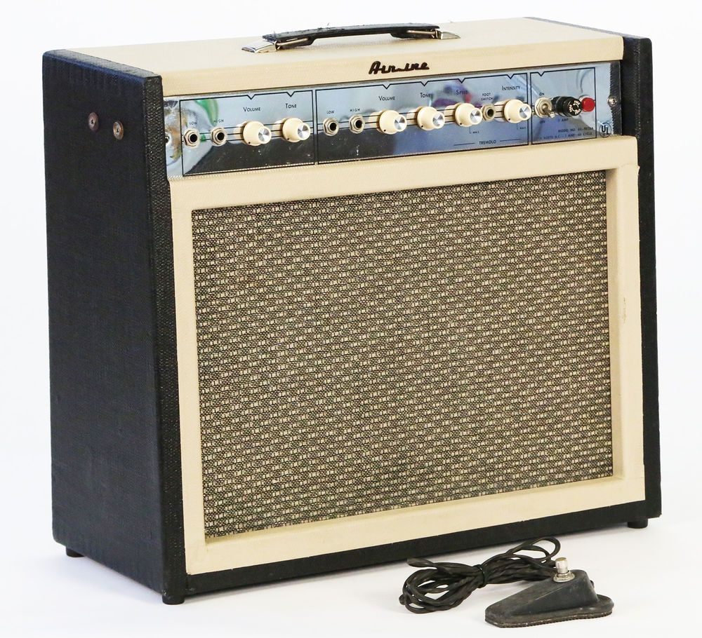 1965 airline 62 9023a vintage electric guitar amplifier supro 1624t valco tube guitars. Black Bedroom Furniture Sets. Home Design Ideas