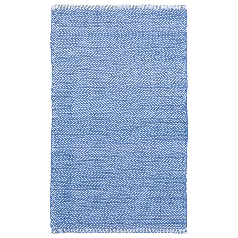 Periwinkle Herringbone Rug Pantone Little Boy Blue Bright Blue Outdoor Rugs Dash And Albert Rugs Herringbone Rug