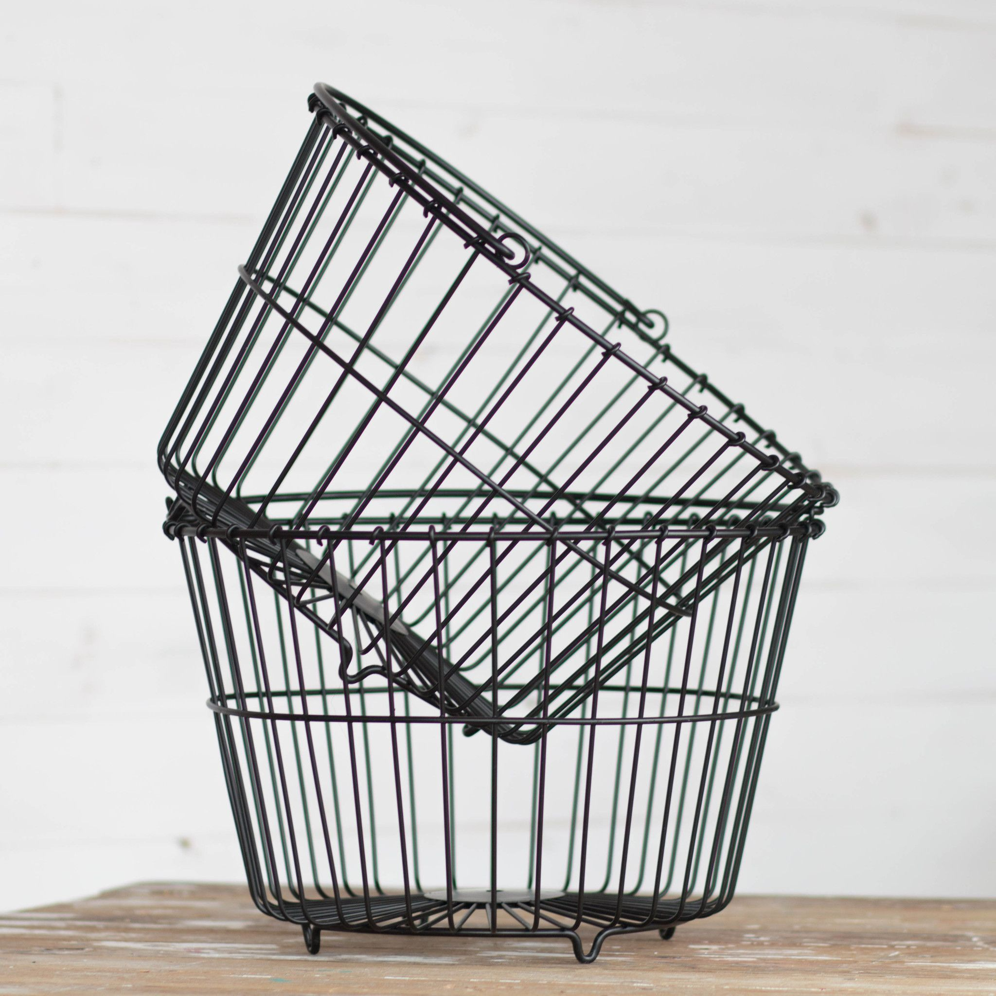 Contain The Mess The Perfect Modern Industrial Basket For Your