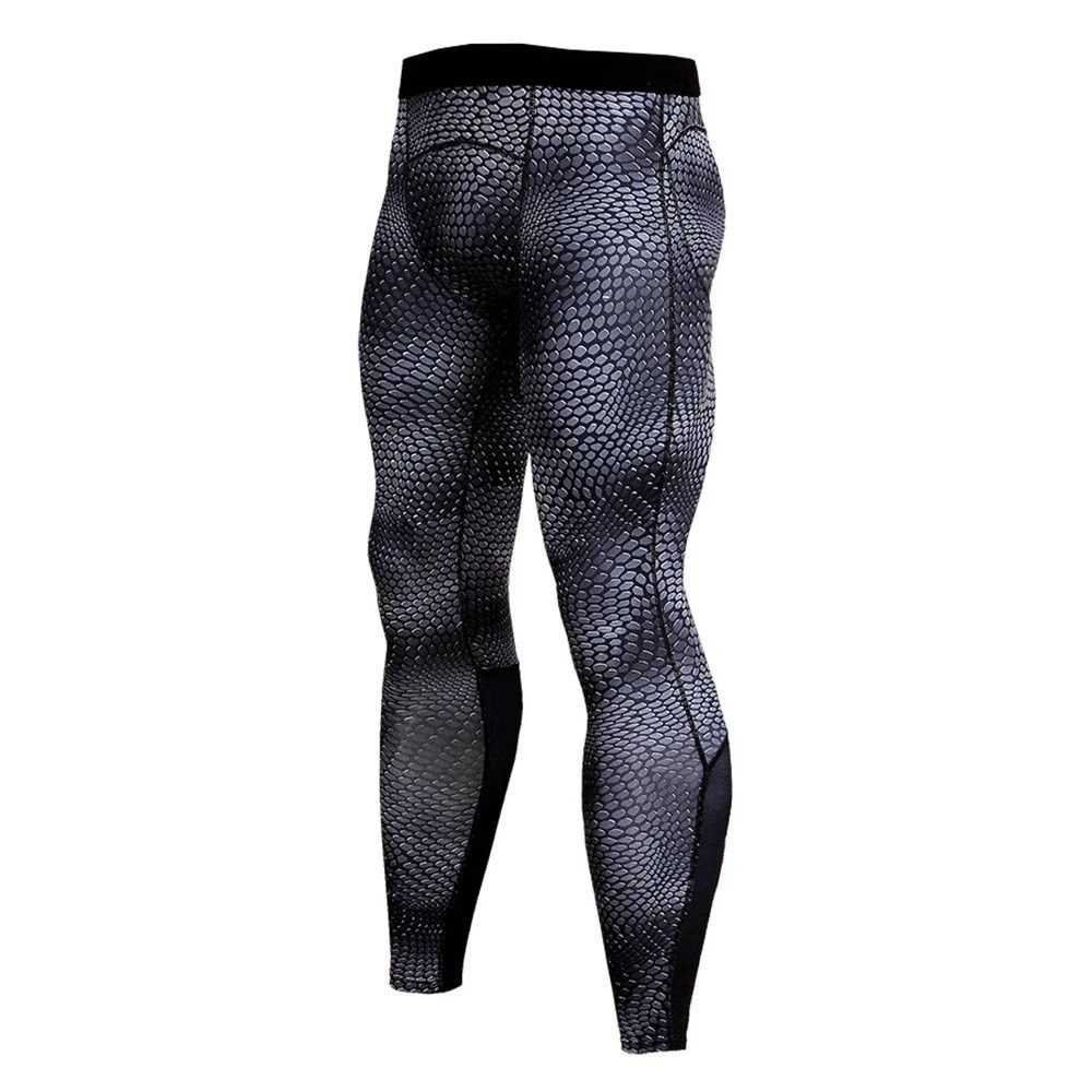 Mens Compression Camo Underwear Base Layer Sports Running Leggings Tight Pants
