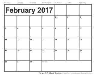 free printable calendar february 2017 free printable calendar