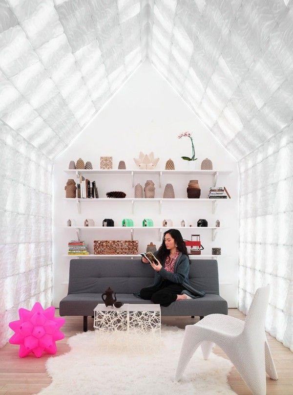 Wohnideen Gartenhaus gartenhaus im hinterhof zeigt tolle experimente mit 3d gedruckten