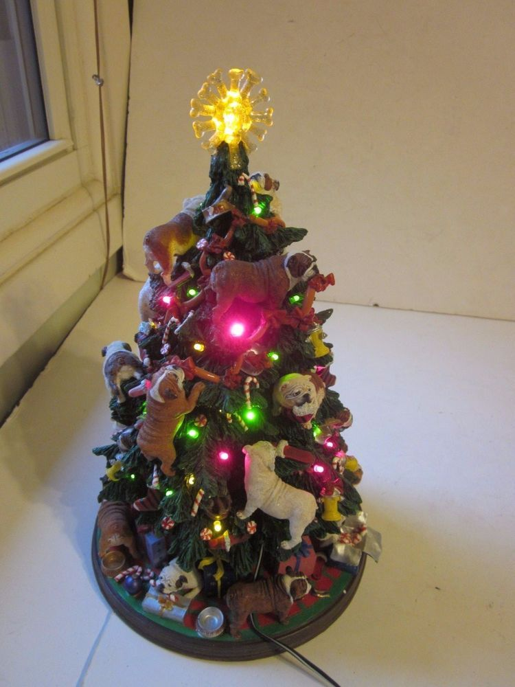 Bulldog Christmas Tree