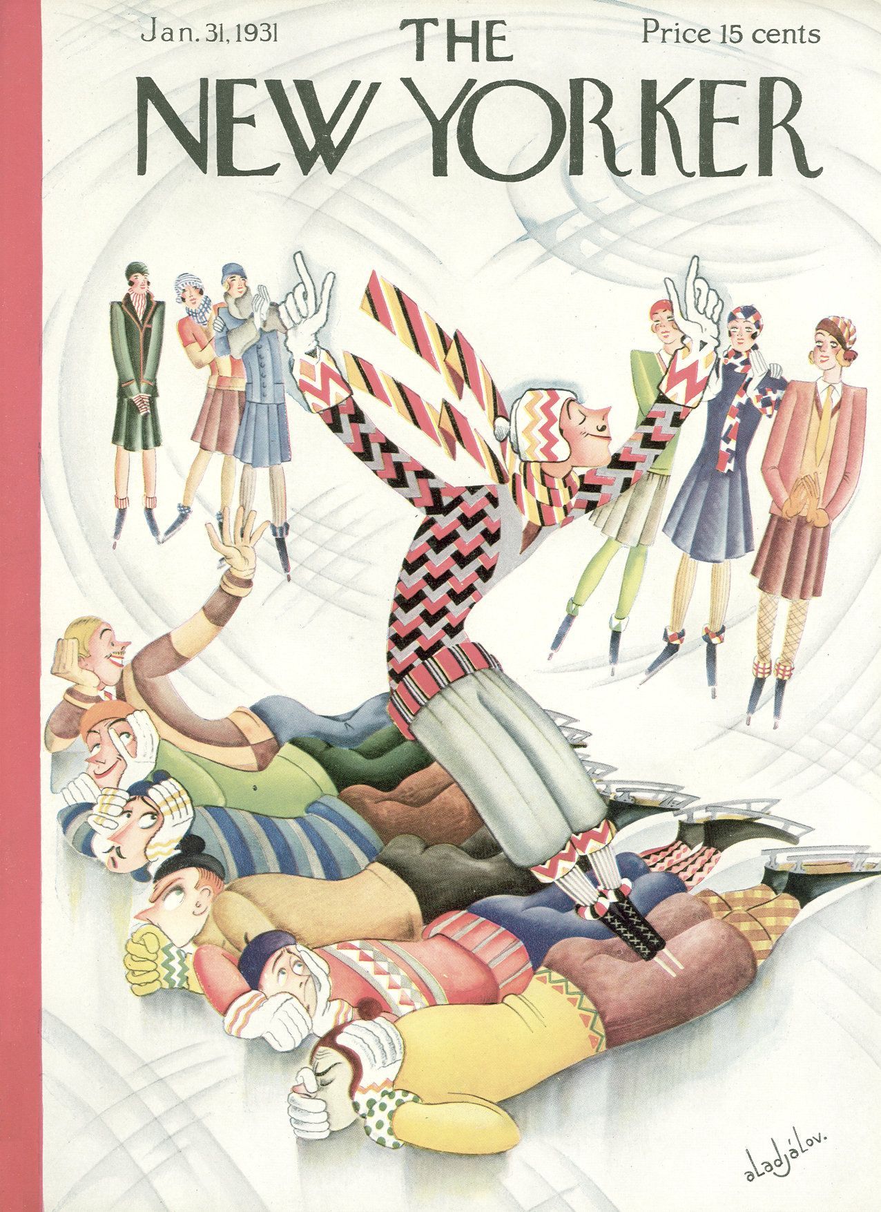 The New Yorker - Saturday, January 31, 1931 - Issue # 311 - Vol. 6 - N° 50 - Cover by : Constantin Alajalov