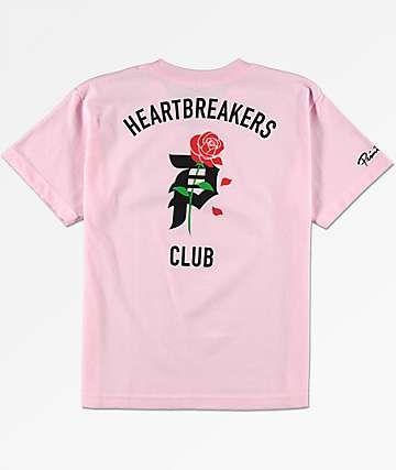b0f3bf9f6457 Primitive Boys Heartbreak Pink T-Shirt | G Swag | T shirt, Shirts ...