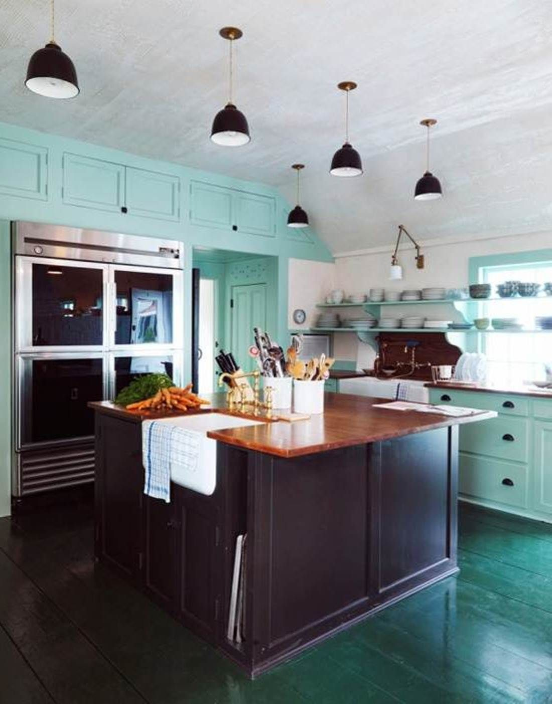 Contemporary Modern Kitchen Colors | Kitchen colors, Contemporary ...